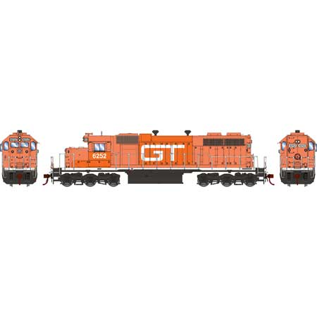 Athearn RTR 88637 - HO SD38 - DCC Ready - GTW #6252