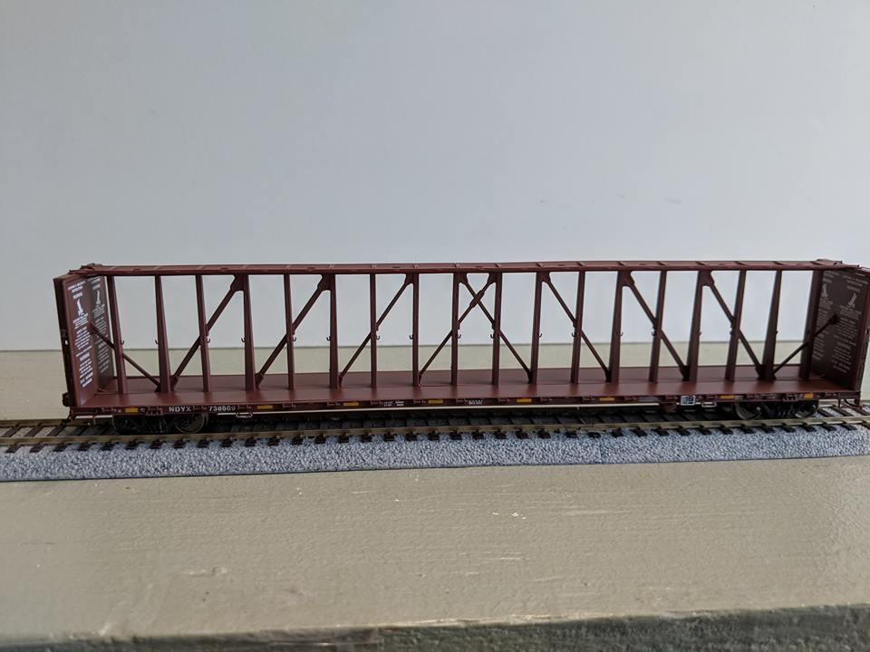 Atlas 20 004 512 HO 73 Ft Center Partition Car - Assembled - First Union Rail #738487