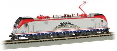 Bachmann 67403 HO - Siemens ACS-64 - DCC & Sound - Amtrak/Salutes Our Veterans #642