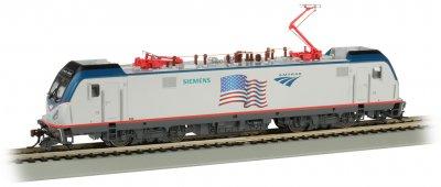 Bachmann 67404 HO - Siemens ACS-64 - DCC & Sound - Amtrak/Demonstrator (Flag)