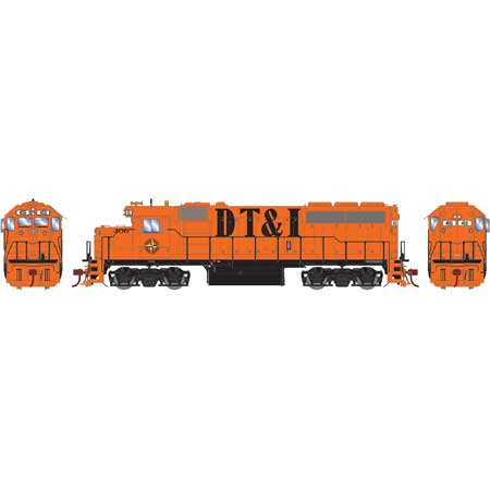 Athearn Genesis G64584 HO Scale - GP40-2 - DCC Ready - DT&I #409