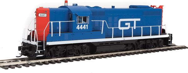 Walthers Proto 40877 HO ESU LokSound Select DCC & Sound - EMD GP9 Locomotive Grand Trunk Western GT #4441