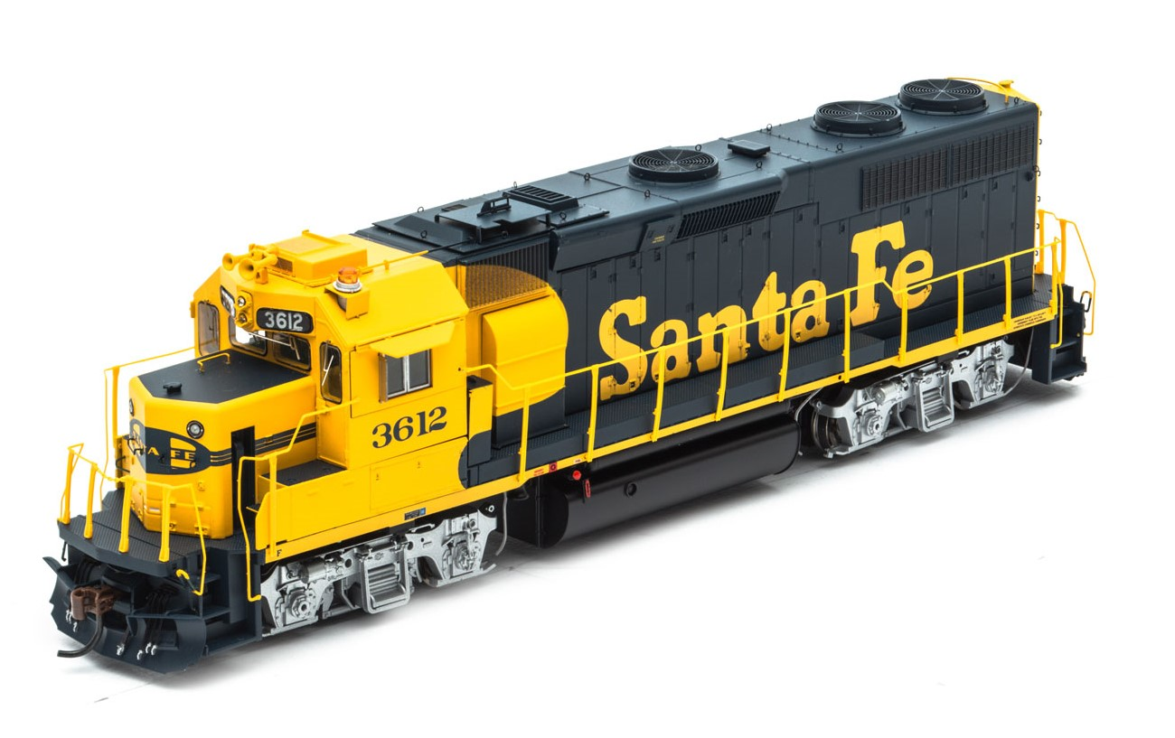Athearn Genesis G40895 - HO GP39-2 Phase 1 - DCC & Sound - Santa Fe #3612