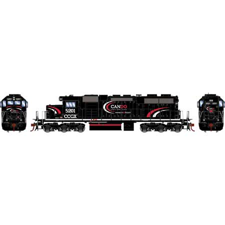 Athearn RTR 88641 - HO SD38 - DCC Ready - CanDo Rail Services #5201