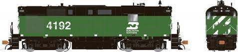 Rapido 31056 HO - Alco RS-11, 2nd Run - Diesel Locomotive - DCC Ready - Burlington Northern - Green and Black #4197