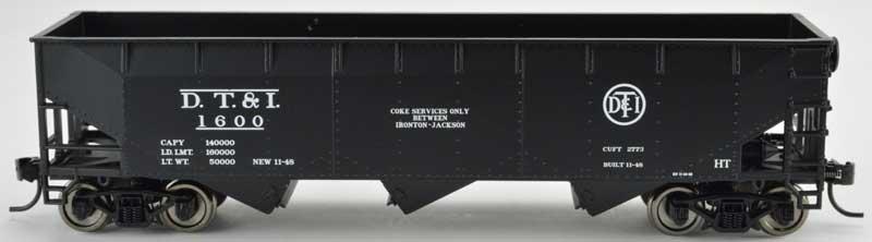 Bowser 42298 HO - RTR 70 Ton Offset Hopper - DT&I #1638