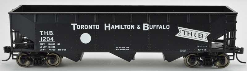 Bowser 42320 HO - RTR 70 Ton Offset Hopper - TH&B White Circle #1226