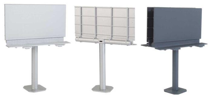 Walthers SceneMaster 4252 - HO Modern Single-Post Billboard - Kit