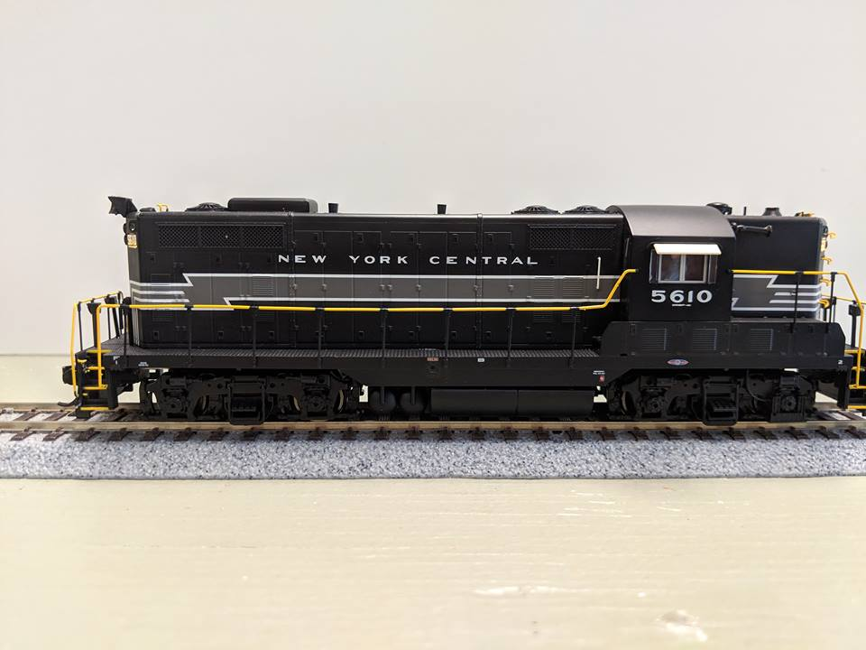 WalthersProto 42106 HO EMD GP7 New York Central #5608 / SoundTraxx Tsunami Sound and DCC