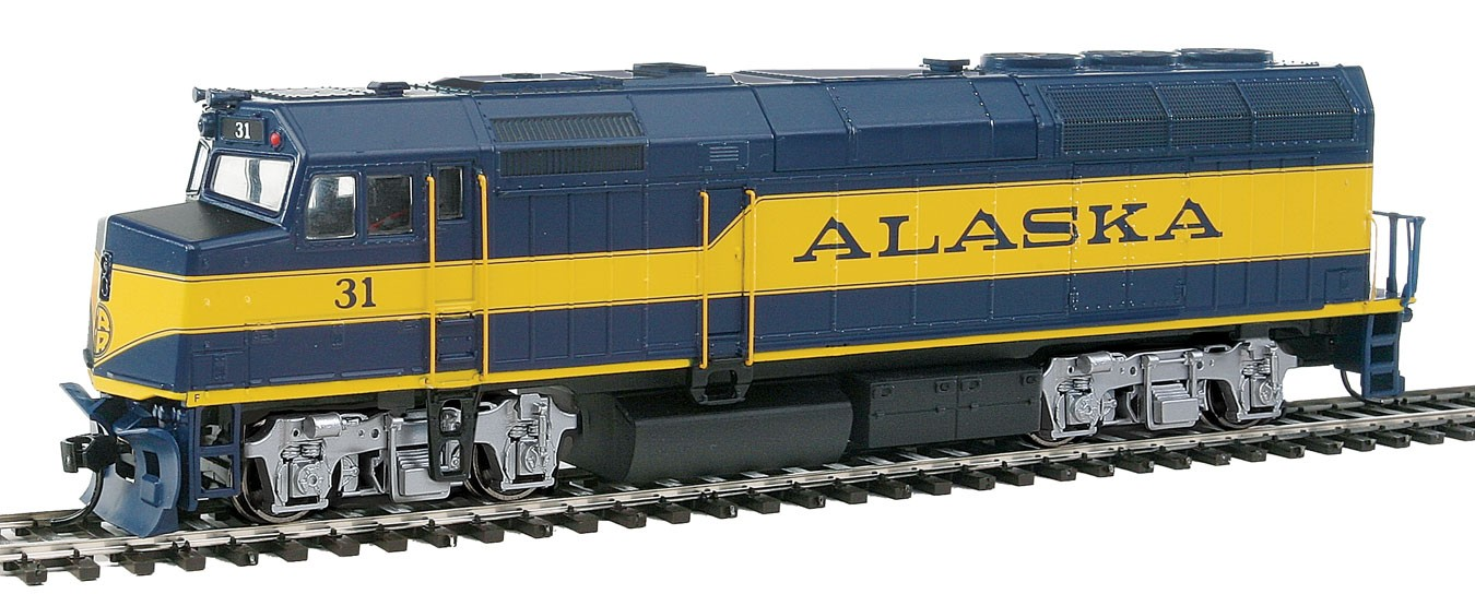 Walthers Mainline 19455 HO Scale - EMD F40PH, Soundtraxx Sound and DCC - Alaska Railroad #31