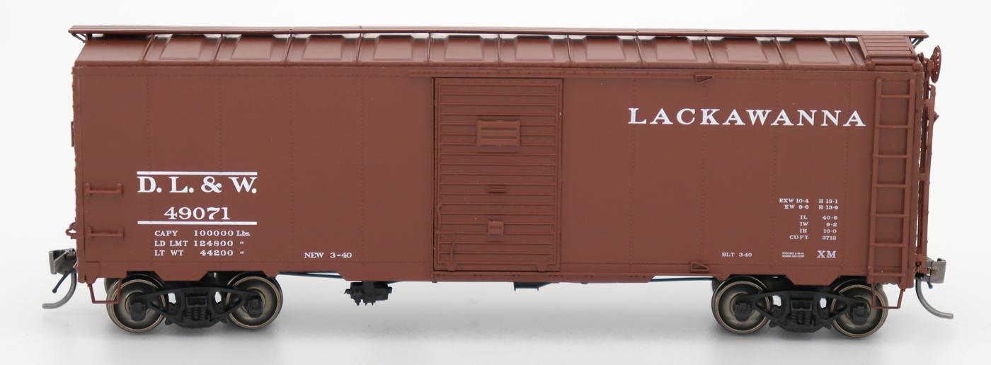 Intermountain 45798-04 HO Scale - 1937 AAR 40Ft Boxcar - Delaware, Lackawanna & Western #49262