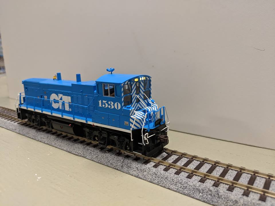 Atlas  10002811 HO MP15DC  DCC and Loksound CITX No.1530