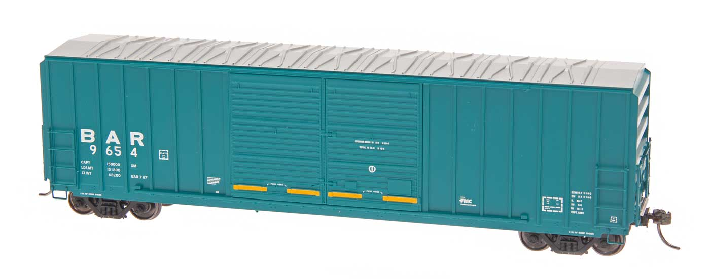 Intermountain Railway 48306-07 HO FMC 5283 Cubic Foot Double Door Boxcar - Bangor & Aroostook BAR 9504
