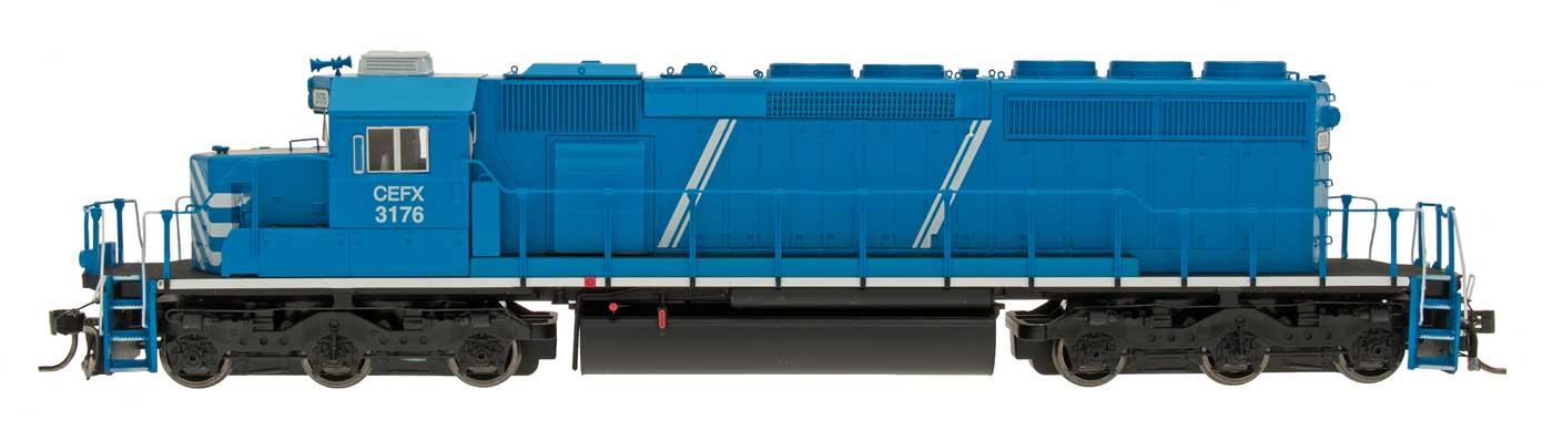 InterMountain 49371S-01 HO Diesel EMD SD40-2 ESU LokSound DCC - First Union Rail Leasing CEFX #3176