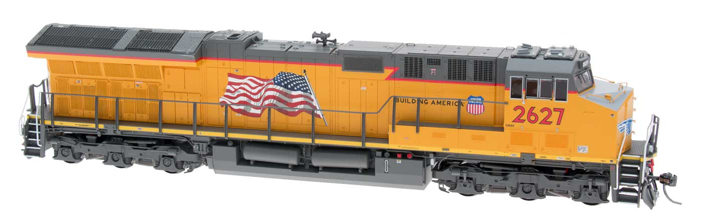 "InterMountain 497104S-08 HO Scale GE ET44AC ""Tier 4 GEVO"" EF-64t DCC & Sound Union Pacific #2656"