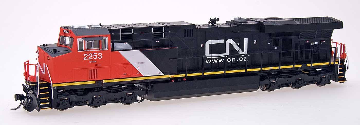 Intermountain Railway 49723S-10 HO Diesel GE Evolution Series ES44DC ESU LokSound DCC and Sound Canadian National CN # 2235