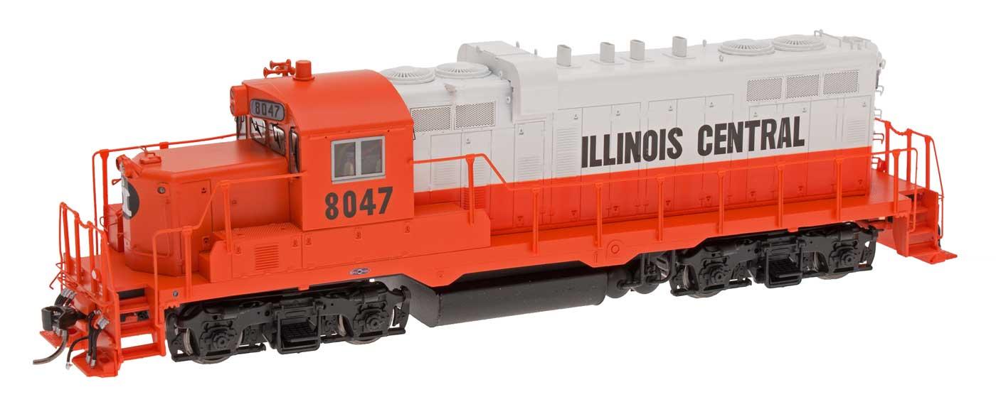 Intermountain Railway HO 49801S-02 Paducah GP10  - ESU LokSound & DCC - Illinois Central  8047