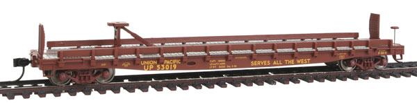 Walthers Mainline HO 5112 - 53 Ft GSC Piggyback Service Flatcar - Union Pacific #53019