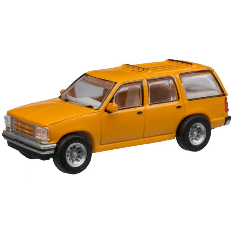 Atlas 60000052 - N Scale 1993 Ford Explorer - Orange Unlettered (2 pkg)