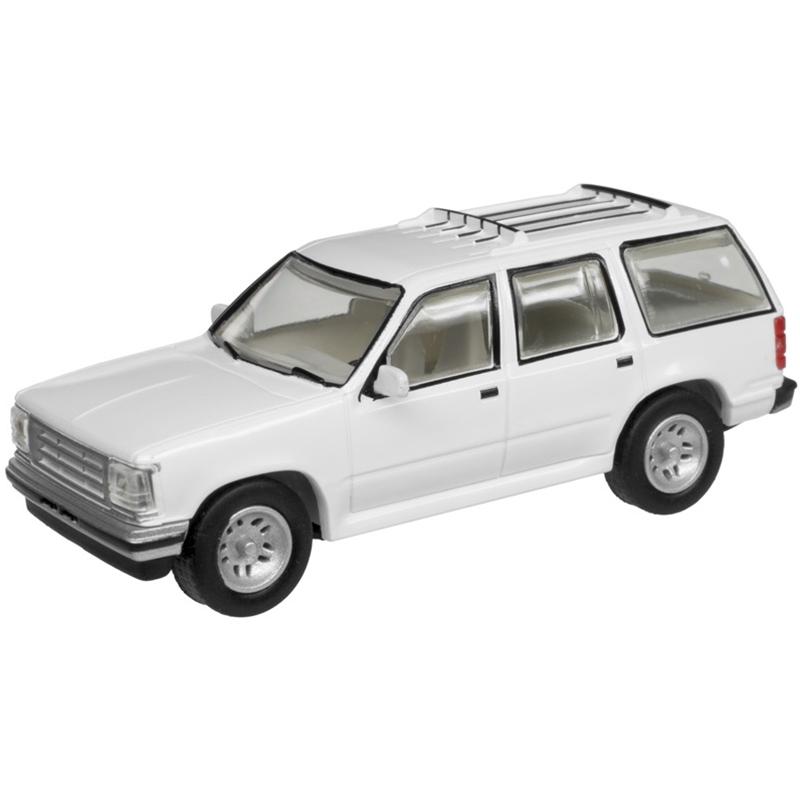 Atlas 60000053 - N Scale 1993 Ford Explorer - White Unlettered (2 pkg)