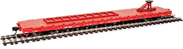 Walthers Mainline HO 5303 - 60 Ft Pullman-Standard Flatcar - Canadian-Pacific (TOFC) #505650