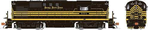 Rapido 31077 HO - Alco RS-11, 2nd Run - Diesel Locomotive - DCC Ready - Nickel Plate Road #559