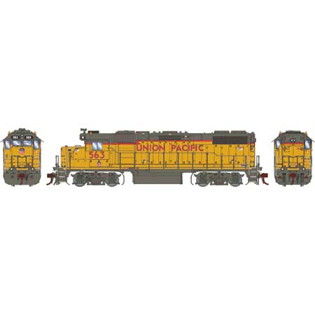 Athearn Genesis G68859 HO Scale - GP38-2 - DCC & Sound - UP/RCL Unit #563