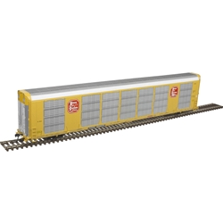 Atlas 20005669 - HO Gunderson Multi-Max Auto Rack - Kansas City Southern #696018