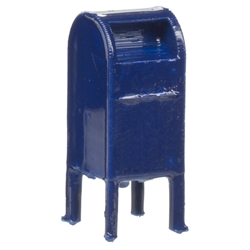 Atlas 4002060 HO - Mail Box (4 per package)