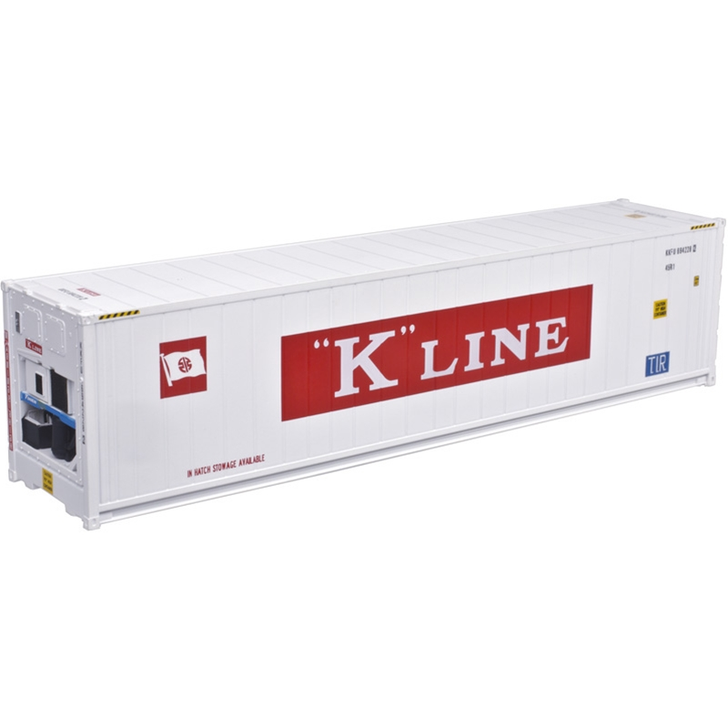 Atlas 20005962 HO - 40Ft Refrigerated Container [3-Pack] K-Line Set #2