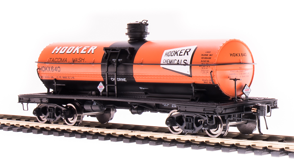 Broadway Limited Imports 6170 - HO 6000 Gallon Tank Car - Hooker Chemicals #627