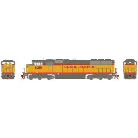 Athearn Genesis G75614 HO - SD60M Diesel Tri-Clops - DCC/Sound - UP #6218