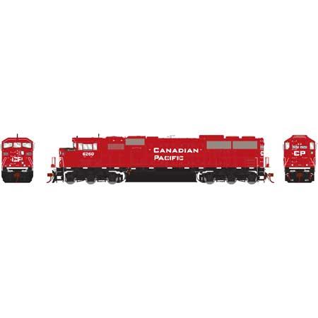 Athearn Genesis G75609 HO - SD60M Diesel Tri-Clops - DCC/Sound - CP #6260