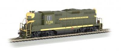 Bachmann 62813 HO Scale - DCC Ready GP9 Diesel w/Dynamic Brakes - CN #1720