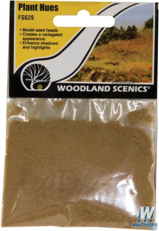 Woodland Scenics 629 - All Scale - Field System - Plant Hues - 1.8 Cubic Inches 29.5 Cubic Centimeters