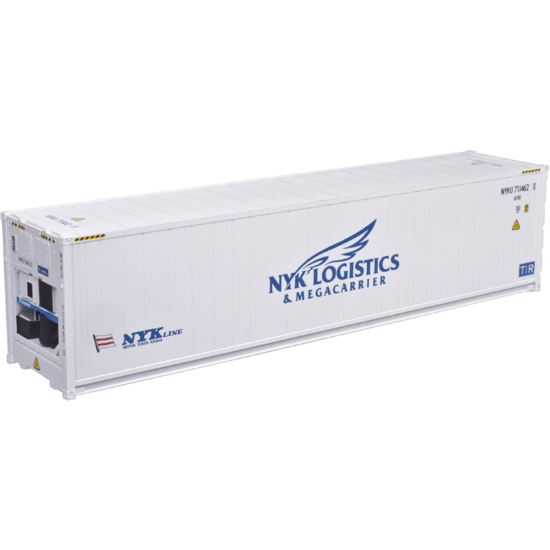 Atlas 20005963 HO - 40Ft Refrigerated Container [3-Pack] NYK Line Set #1