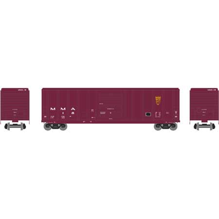 Athearn RTR 28243 - HO 50ft PS 5344 Box - MM&A #77