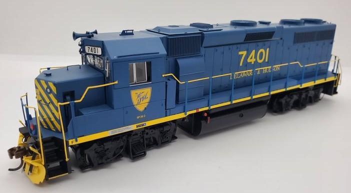 Athearn Genesis G64613 - HO GP39-2 Phase 1 - DCC & Sound - Delaware & Hudson #7401