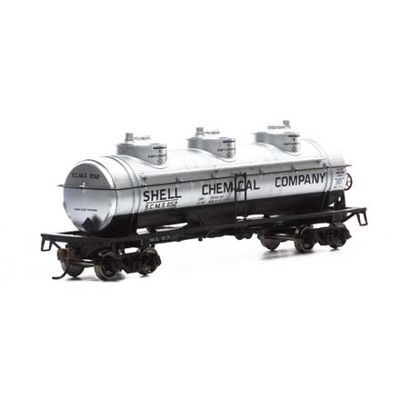 Athearn Roundhouse 1716 HO Scale - 3-Dome Tank - SCMX #655