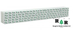 Walthers SceneMaster 3166 - HO Wrapped Lumber Load for 72ft Centerbeam Flatcar - Rough & Ready Lumber