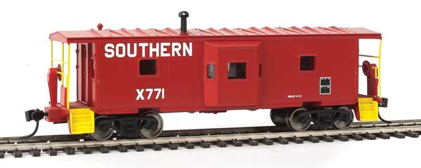 Walthers Mainline 8669 - HO International Bay Window Caboose - Southern #X771