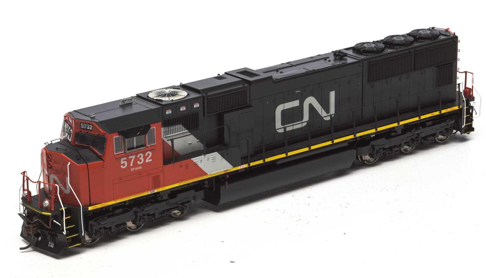 Athearn G69348 - HO EMD SD75I - DCC & Sound - Canadian National CN #5732