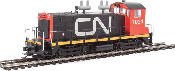WalthersProto 41435 HO EMD SW1200 - ESU LokSound DCC - Canadian National CN #7024