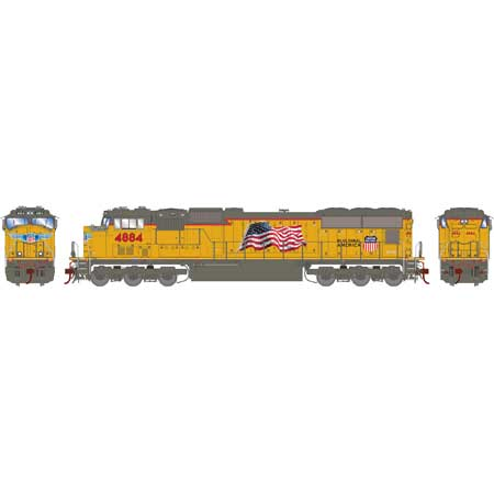 Athearn Genesis G70561 HO SD70M Union Pacific Early Flare DCC Ready No.4944