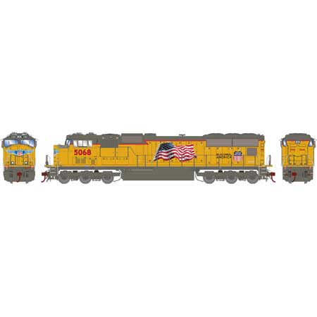 Athearn Genesis G70663 HO SD70M Union Pacific Late Flare DCCw.Tsunami Sound No.5119