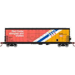 Athearn RTR 67718 - HO 50ft Evans Double-Door Plug Boxcar - USLX Canfor #384