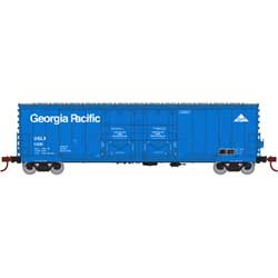 Athearn RTR 67727 - HO 50ft Evans Double-Door Plug Boxcar - Georgia Pacific/USLX #16068
