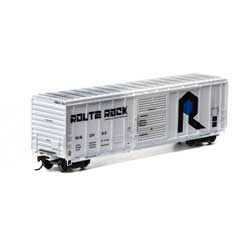 Athearn RTR 28723 - HO 50ft PS 5344 Boxcar - Route Rock/W&OV #53