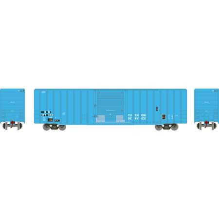 Athearn RTR 72765 - HO 60ft ICC Hi-Cube Boxcar - Burlington Northern #377365