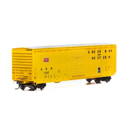 Athearn RTR 15908 HO Scale - 50Ft PS 5277 Box - GB&W #1737